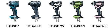 TD149DZ / TD149DZB / TD149DZW / TD149DZL / TD149DZP